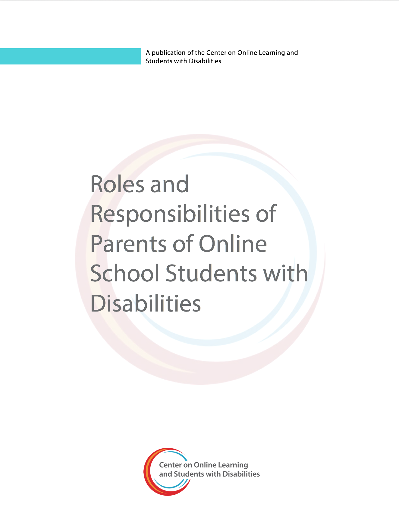 Roles And Responsibilities Of Parents Of Online School Students With Disabilities